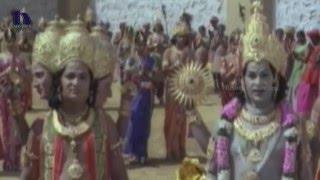 Lord Brahma and Vishnu Prays For Shiva at Gajasura - Sri Vinayaka Vijayam Movie Scenes