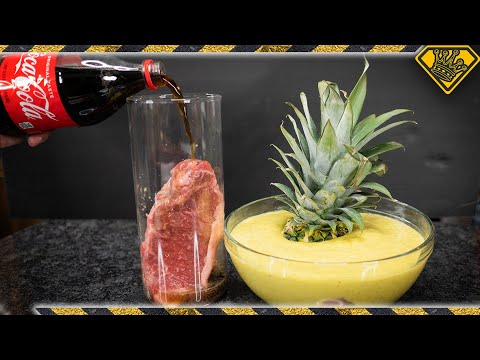 Will COKE and Pineapple ACID Disintegrate Meat