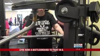 Gym Becomes Battleground for Fighting MS