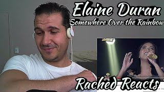 Coach Reaction - Elaine Duran - Somewhere Over the Rainbow