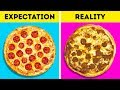 FOOD ADS: EXPECTATION VS REALITY
