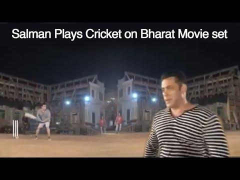 Xxx Mp4 Salman Khan Plays AMAZING Cricket While Shooting For Bharat Movie With Katrina Kaif 3gp Sex