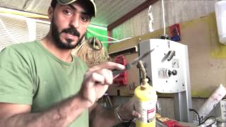 حمود العراده|🔴 طريقة لحام اي نوع  بلاستك مكسور|