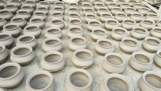 Primitive Technology Pottery | How to Make Clay Pots | Mitti Ki Handi Kesay Banti Hai