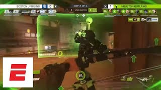 Highlights from Houston Outlaws' surprising 3-1 victory over the Boston Uprising | Esports | ESPN