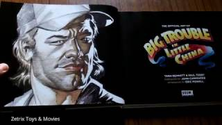 The Official Art of Big Trouble in Little China - BOOK Review