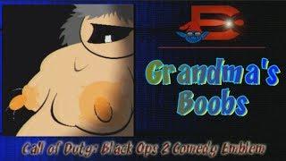 Black Ops 2 Comedy Emblem - Grandma's Boobs
