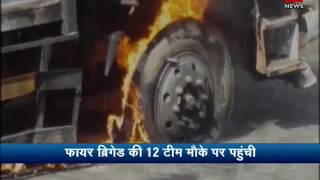 Fire at plastic factory in West Bengal