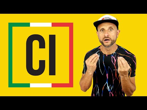 How to use CI in Italian most complete explanation