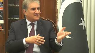 Minister of Foreign Affairs Pakistan Shah Mehmood Qureshi with Adnan Haider  News@7