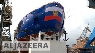 Russia eyes Arctic shelf expansion