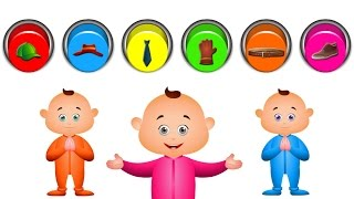 Learn Objects (Wearbles) For Kids And Many More Fun Videos | JamJammies Nursery Rhymes