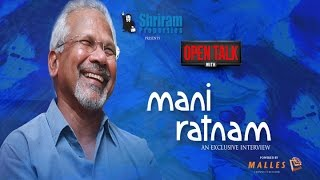 """""""Who said Thalapathy had two climaxes?"""" - Open talk with Mani Ratnam"""