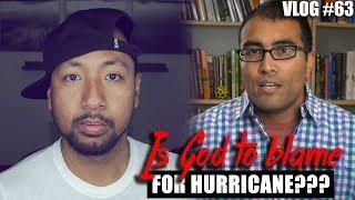 Atheist BLAMES GOD for HURRICANE in HOUSTON | SFPvlog