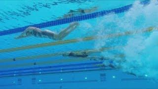 Women's Swimming 50m Freestyle - Heats | London 2012 Olympics
