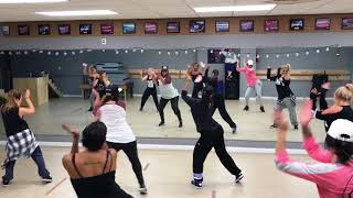 "Adult Hip-Hop w/Dee Delgado - Jason Derulo ""Tip Toe"" (Just the girl Squad)"