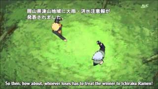 Naruto - Kakashi & Naruto funny
