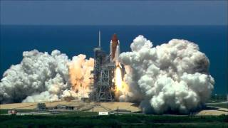 Space Shuttle Launch Audio - play LOUD (no music) HD 1080p