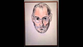 How Karl Lagerfeld sketched Steve Jobs on iPad