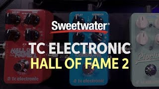 TC Electronic Hall of Fame 2 Reverb Pedal Demo