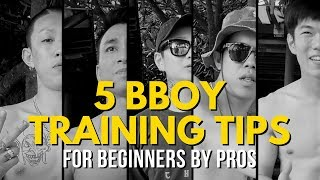 5 Helpful Bboy Training Tips For Beginners From Bboys Across Asia