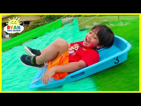 Xxx Mp4 Worlds Biggest Giant Slides Kids Family Fun Trip To The Farm With Animals 3gp Sex