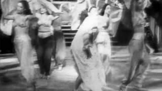 مشهد من فيلم خاتم سليمان لليلي مراد