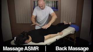 Back Massage for Visual Relaxation & ASMR
