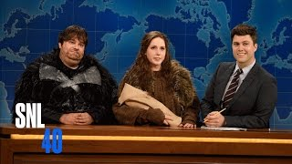 Weekend Update: Sam and Gilly - Saturday Night Live