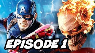Agents Of SHIELD Season 4 Episode 1 Ghost Rider TOP 10 Marvel Easter Eggs