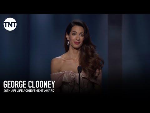 Xxx Mp4 Amal Clooney Tribute To George AFI 2018 TNT 3gp Sex