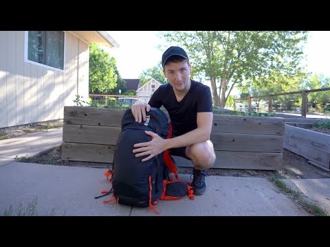 Living out a of a Single Backpack