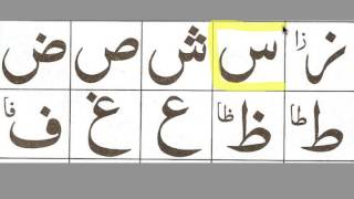 Noorani Qaida Lesson # 1 Part 2