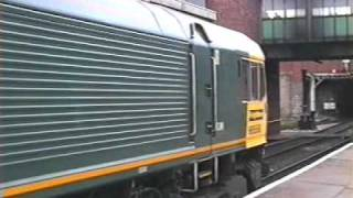 Class 66s - 558 & 565 Coast Through Bury.mpg