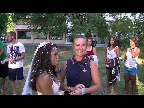 boda lesbica de nuria y sole en la concentracion de la española 2012