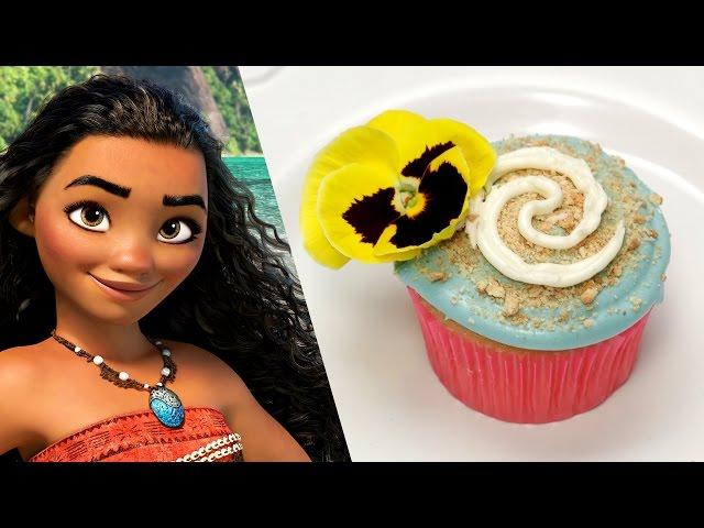 Disney's Moana Inspired Cupcake | Disney Family