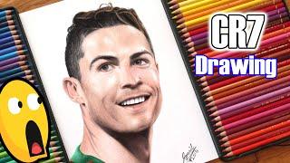 Cristiano Ronaldo drawing ..... World Cup 2018