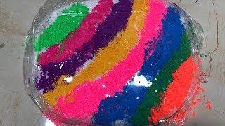 Slime Coloring - Most Satisfying Slime Video # 20 ! Tom Slime