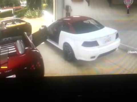 Bugatti veyron vs ferrari F430.
