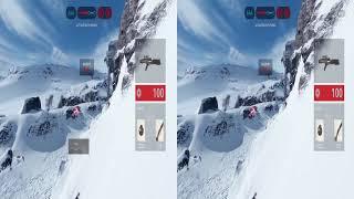 Star Wars Battlefront Beta Oculus Rift  1080p SBS  TriDef 3D Zeiss Head Tracking