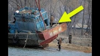 A Wooden Ghost Ship Washed Up On Japan's Coast, And Inside Were The Disturbing Remains Of The Crew