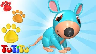 TuTiTu Animals | Animal Toys for Children | Mouse and Friends