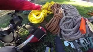 My Equipo De Poda De Arbol,this is my climbing gear
