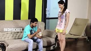 College Girl Secret With Boyfriend In Hostel Room