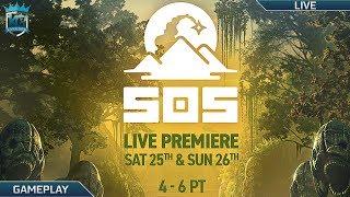 SOS: The Ultimate Escape Live Premiere + Alpha Footage! || Watch LIVE!!
