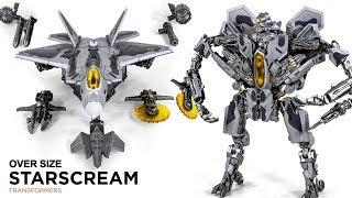 Transformers Movie Studio Series Starscream Blackmamba LS-4 Oversized Starscream Vehicle Robot Toys
