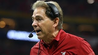 Nick Saban in Mid-Season Form on First Day of Spring Practice | Stadium