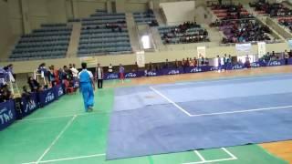 25 Senior NATIONAL WUSHU championship game at RANCHI Jhakhand