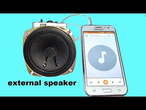 Xxx Mp4 Haw To Make External Bass Music Speaker At Home For Mobile And Laptop 3gp Sex