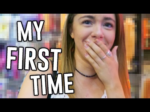 FIRST TIME IN A SEX STORE.... // ExtraJill